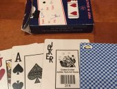 Игральные карты Gemaco, Premium casino product, Paper Playung Cards, 54 шт в