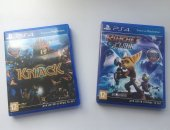 Продам игры для playstation 4 в Ишимбае, Knack Ratchet Clank PS4, Цена за обе, Если