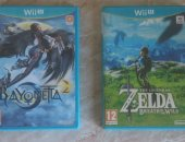 Продам игры для nintendo в Москве, Zelda: Breath of the Wild и Bayonetta 2Wii U, Диски в