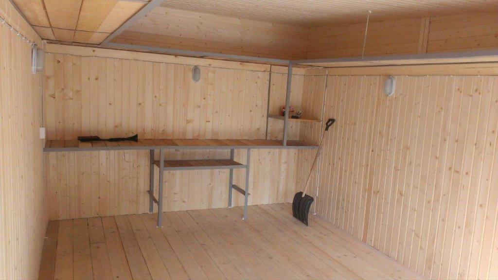 Чем обшить гараж изнутри: варианты обшивки