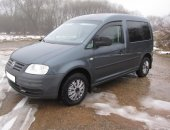 Авто Volkswagen Caddy Life, 2009, 248 тыс км, 102 лс в Смоленске