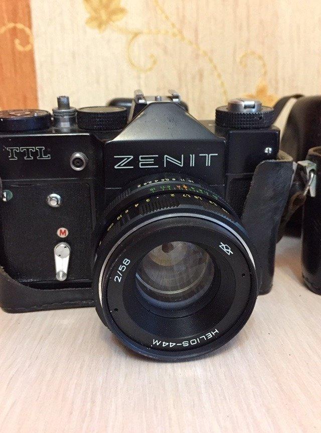 особенная коллекционные фотоаппараты зенит хорошем