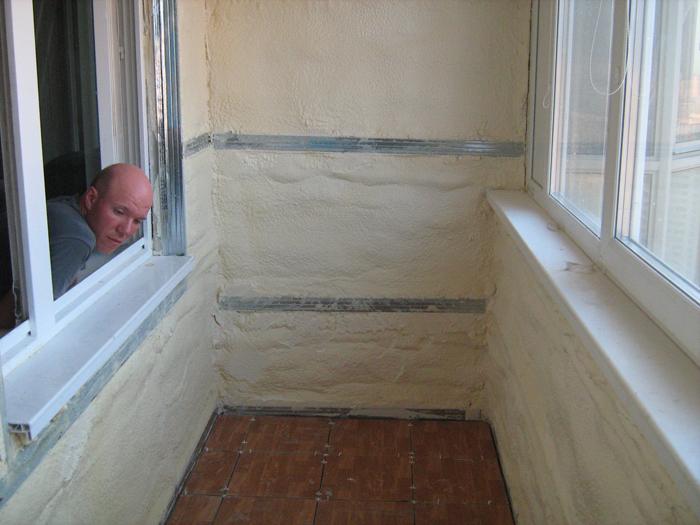 Утепление балкона ппу. - готовые балконы - каталог статей - .