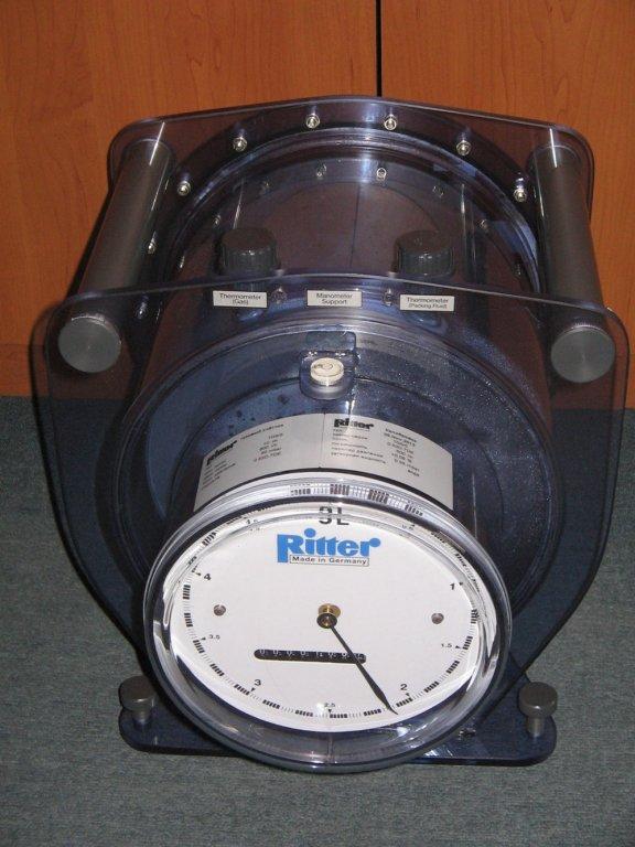 TG 20 Счетчик газа барабанный Ritter (40-2800 л/час)