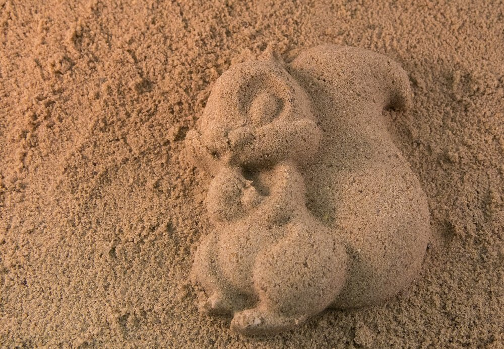 Картинки из песка речного